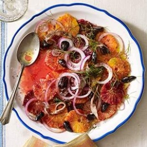 Orange, Anchovy & Olive Salad - EatingWell